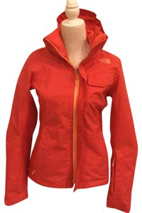 The North Face melon red Jacket