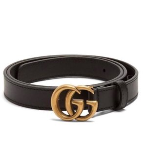 Gucci Gucci Double G leather belt