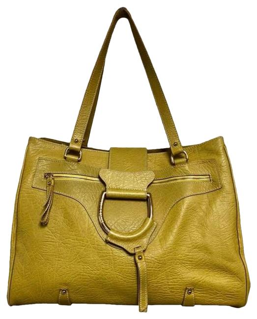 Item - Dolce & Gabbana Large Yellow Leather Tote