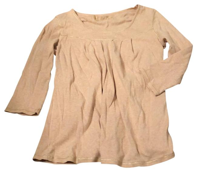 Item - Beige Loose Fit Tee Tunic Size 8 (M)