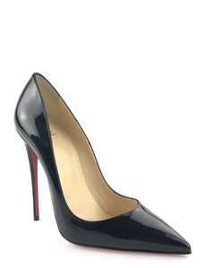 Christian Louboutin Red Bottoms So Kate Black Pumps
