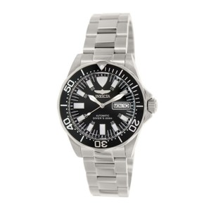 Invicta INVICTA Men's Black Dial Diver Stainless Steel Watch 7041