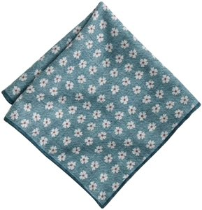 J.Crew j.crew silk cotton reversible packet square in daisy print