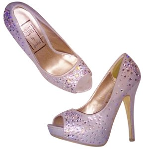 Barby Bejeweled Embellished Grey Pumps