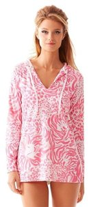 Lilly Pulitzer Beach Lion Hoodie Tunic