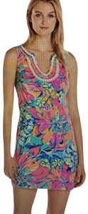 Lilly Pulitzer short dress multi New With Tags Flower on Tradesy