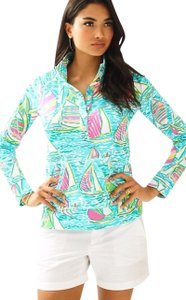 Lilly Pulitzer Popover New Pullover Sweatshirt