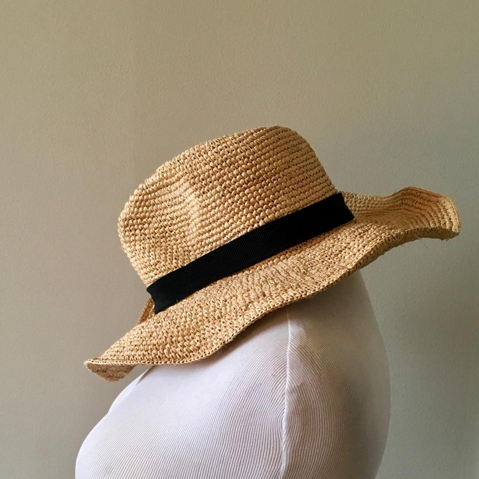 2002bc27facdd J.Crew Packable Straw Hat Image 9. 12345678910