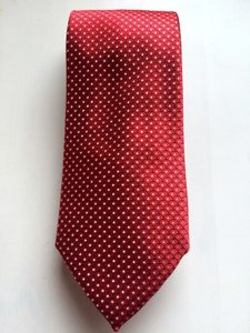 Brioni Red Satin Silk Tie/Bowtie