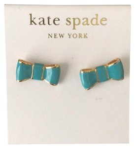 Kate Spade Blue Bow Earrings