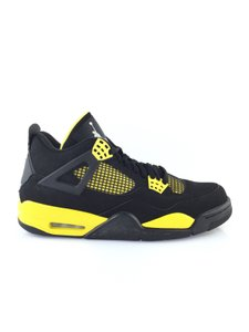 Air Jordan Black/Yellow Athletic