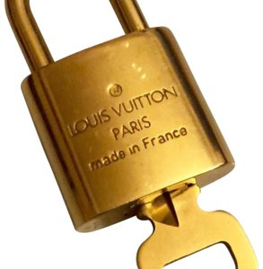 Louis Vuitton Auth LV Lock and Key for Speedy, Keepall, Alma bags