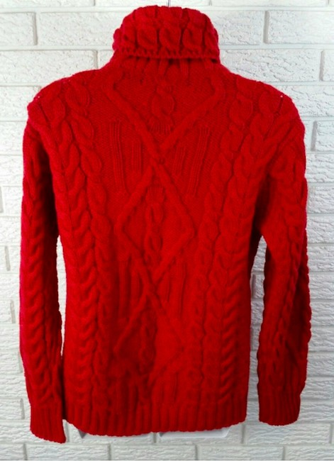 inis crafts red irish sweater pullover classic sweater