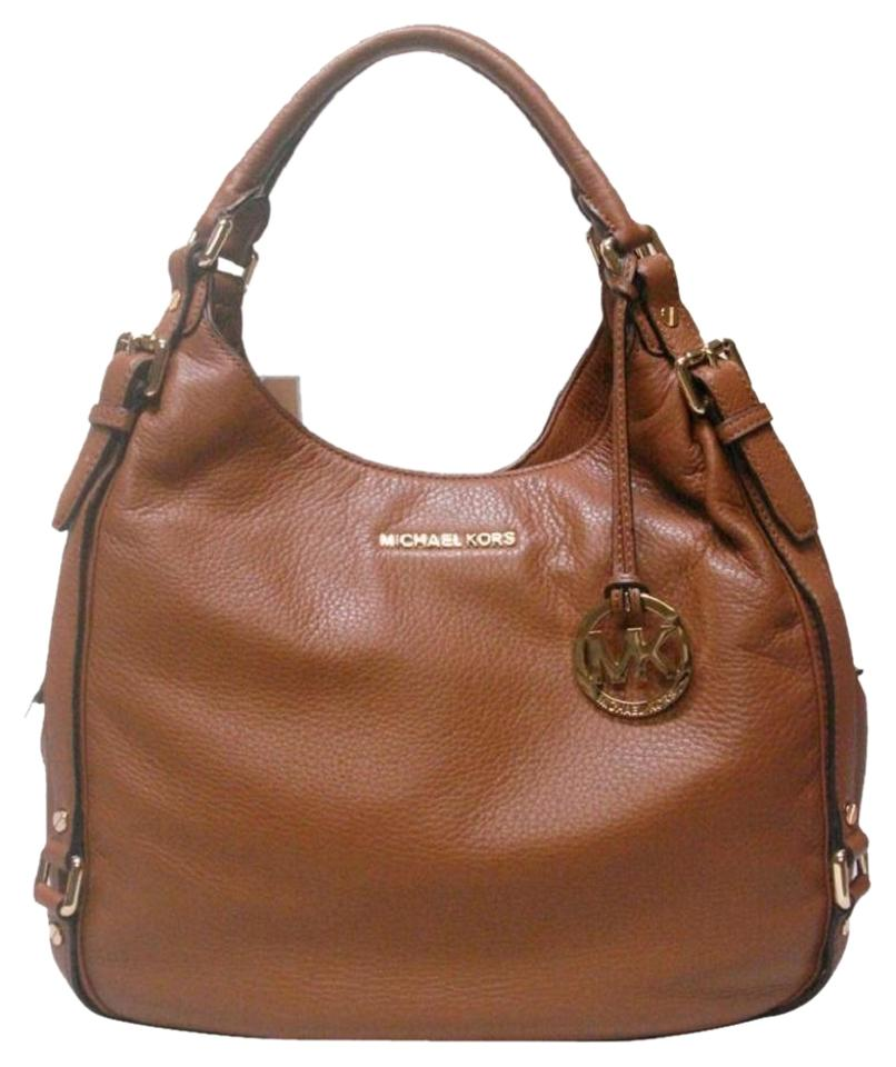 ... large chain shoulder tote style 35t5gtvt3l ccb56 cheap michael kors mk  tan tote gold north south satchel in luggage brown fccdd 42ca3 ... ff0d38083aaa4