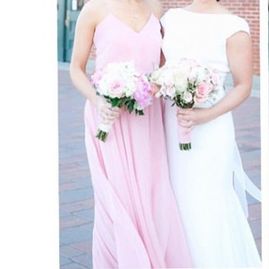 Jenny Yoo Rosewater Chiffon Inesse Style 1684 Formal Bridesmaid/Mob Dress Size 6 (S)