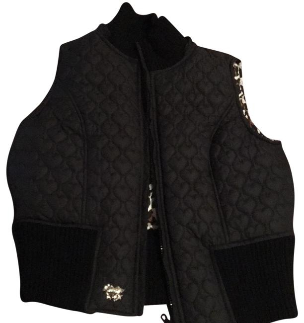 Preload https://item2.tradesy.com/images/betsey-johnson-black-vest-size-0-xs-22913171-0-1.jpg?width=400&height=650