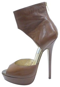 Jimmy Choo Caramel or Tan Boots