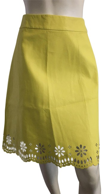 Preload https://item5.tradesy.com/images/kate-spade-yellow-leather-knee-length-skirt-size-6-s-28-22913184-0-1.jpg?width=400&height=650