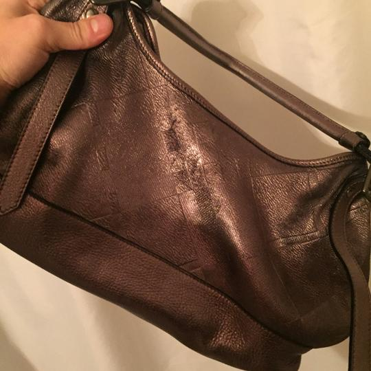 Burberry Satchel in metalic