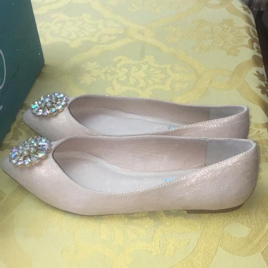Betsey Johnson Rose gold Flats