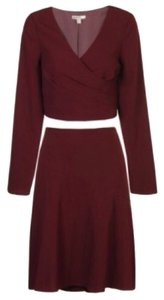 B. Darlin Two Piece Crepe Skirt Suit