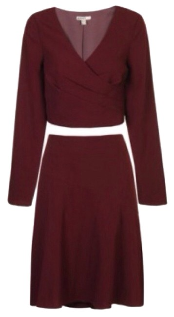 Preload https://item2.tradesy.com/images/b-darlin-burgundy-two-piece-crepe-skirt-suit-size-10-m-2291341-0-0.jpg?width=400&height=650