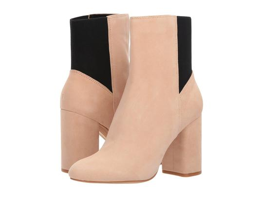 Dolce Vita Chunky Pull On Platform Suede Ankle Blush Boots