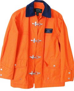 Ralph Lauren Raincoat Orange Jacket
