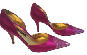 Caparros Brilliant Color Fuchsia Pumps