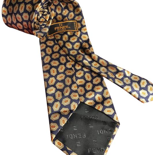 Preload https://item3.tradesy.com/images/fendi-blue-and-yellow-gold-classic-men-s-tie-22913507-0-1.jpg?width=440&height=440