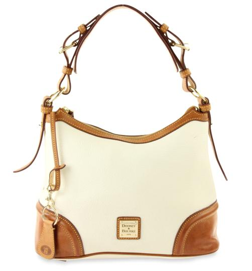 Preload https://img-static.tradesy.com/item/22913512/dooney-and-bourke-small-white-leather-hobo-bag-0-2-540-540.jpg