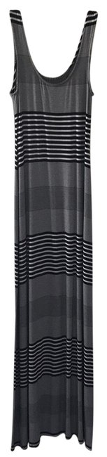 Preload https://item1.tradesy.com/images/merona-black-and-white-striped-long-casual-maxi-dress-size-2-xs-22913565-0-1.jpg?width=400&height=650