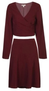 B. Darlin Crepe Skirt Suit