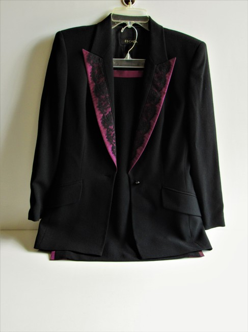 Escada ESCADA Upscale Four Piece Suit-Jacket/Pants/Skirt & Shell Size 36/US 6