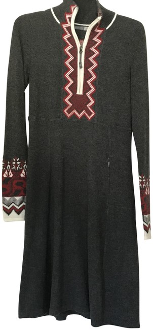 Preload https://item5.tradesy.com/images/athleta-grayredivory-snowcat-style-305983-short-casual-dress-size-0-xs-22913639-0-1.jpg?width=400&height=650