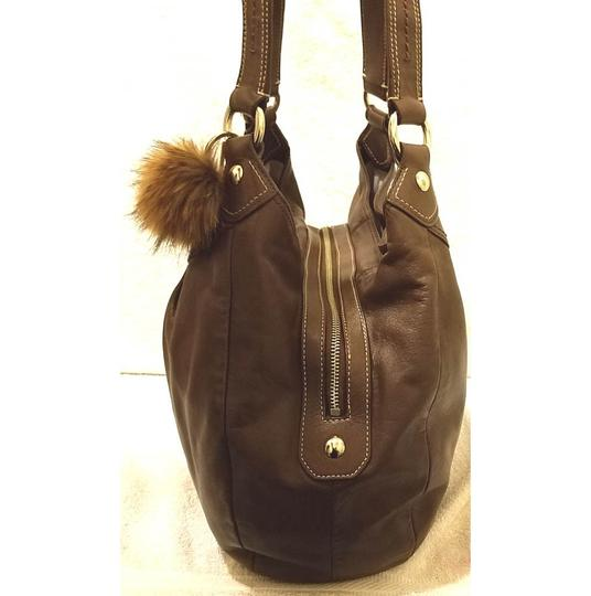 Coach Refurbished Leather Extra-large Lined Hobo Bag