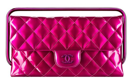 Preload https://item4.tradesy.com/images/chanel-clutch-timeless-quilted-calfskin-cc-logo-handle-metallic-pink-patent-leather-clutch-22913703-0-2.jpg?width=440&height=440