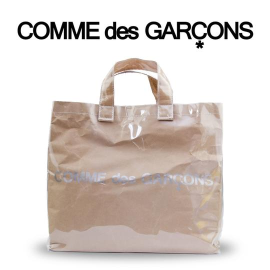 Preload https://item4.tradesy.com/images/comme-des-garcons-limited-edition-shopping-brown-vinyl-tote-22913708-0-0.jpg?width=440&height=440