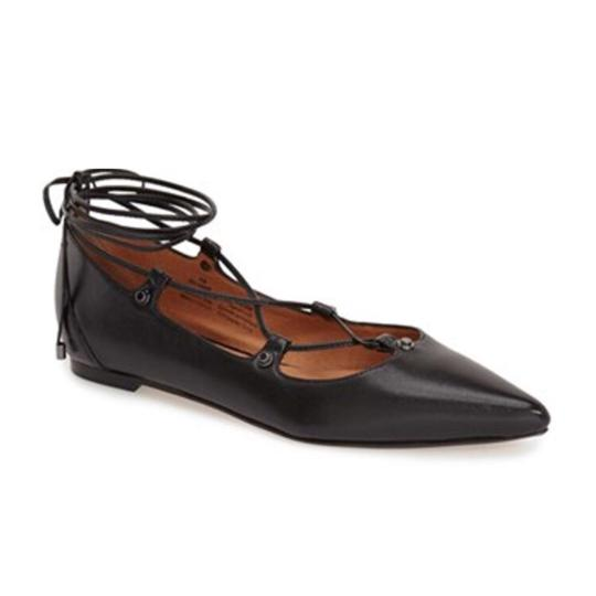 Halogen black Flats