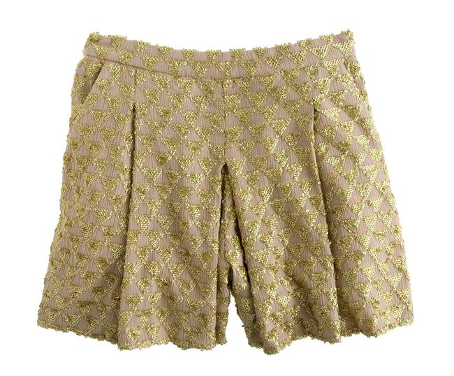 Preload https://img-static.tradesy.com/item/22913740/jcrew-gold-holographic-sequin-collection-shorts-size-4-s-27-0-0-650-650.jpg