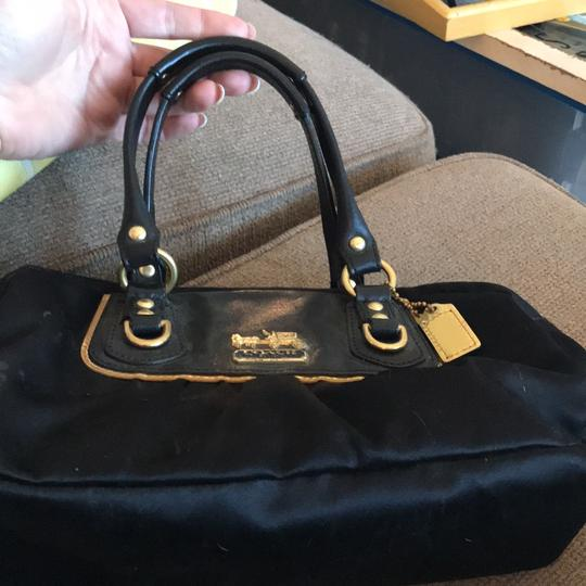 Preload https://img-static.tradesy.com/item/22913773/coach-amanda-satin-mini-style-number-12927-black-polysatin-with-leather-trim-satchel-0-0-540-540.jpg