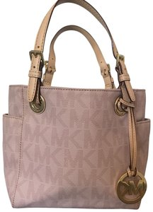 Michael Kors Satchel in Pink Monogram