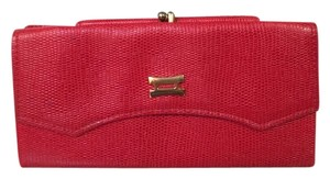 Princess Gardner Princess Gardner Red Leather Wallet