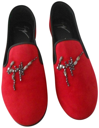 Preload https://img-static.tradesy.com/item/22913796/giuseppe-zanotti-red-i56029-crystal-accented-suede-loafers-flats-size-eu-395-approx-us-95-regular-m-0-1-540-540.jpg