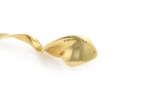 Tiffany & Co. Frank Gehry ORCHID 18k Yellow Gold Swirl Pendant Necklace