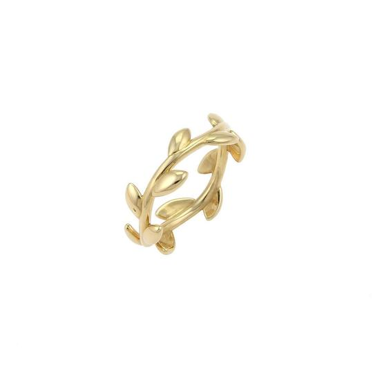 Preload https://img-static.tradesy.com/item/22913870/tiffany-and-co-19260-picasso-18k-yellow-gold-6mm-wide-olive-leaf-band-ring-0-0-540-540.jpg