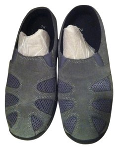 Z-Coil greyish blue Mules