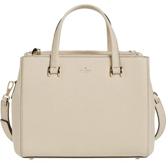 Preload https://img-static.tradesy.com/item/22913984/kate-spade-hopkins-street-fallon-medium-porcelain-leather-satchel-0-1-540-540.jpg