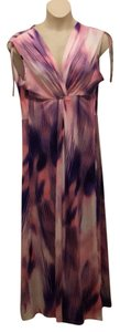 Pink multi Maxi Dress by Nancy O'Dell