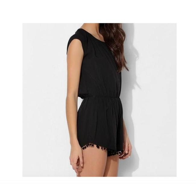 Preload https://item5.tradesy.com/images/urban-outfitters-black-pom-short-romperjumpsuit-size-4-s-22914094-0-1.jpg?width=400&height=650